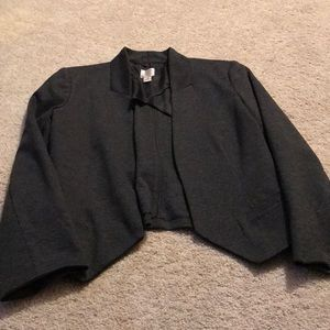 Lauren Conrad crop blazer